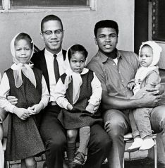 Malcolm and Muhammad and their his children