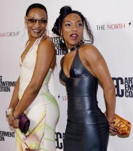 The Les Nubians have so much style and flava. Amazing looks.