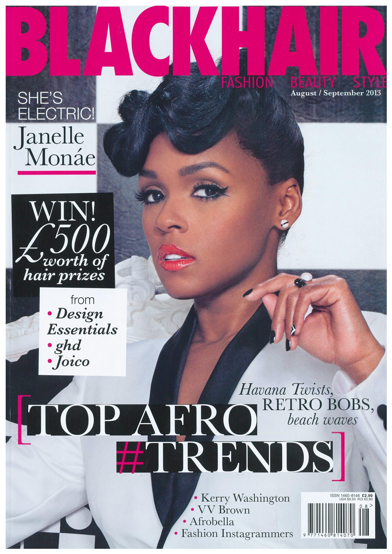 Hair Styles: black hair magazine online style
