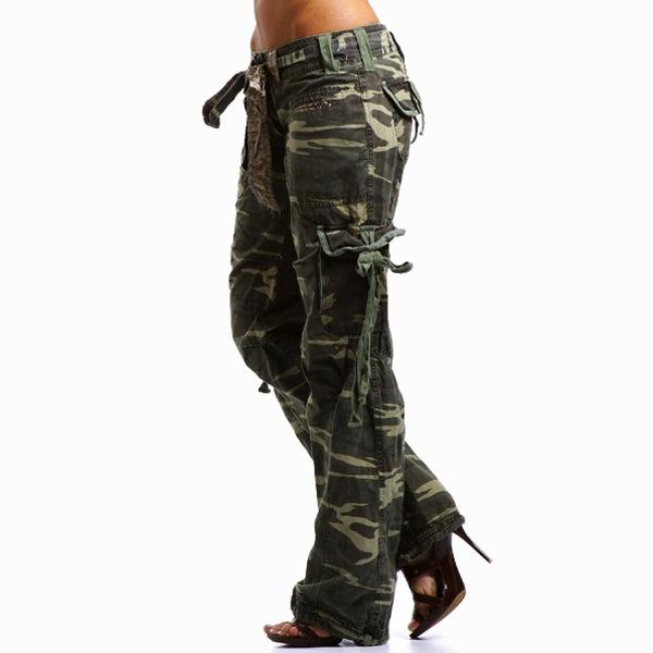 Womens Camo Fashion Boots