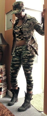 Playing around in all the camo I own...