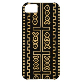 Mud Cloth Print phone... very nice