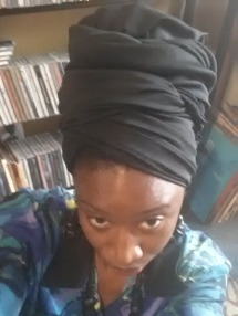 The Black Headwrap is my thing.