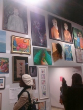 My art on display @ Cleveland State University. I was so happy about this!