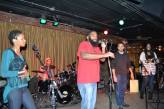 THE GRIOT PROJECT: Akron with Umojah Nation Reggae band and student Patrick Warner, poet in training.