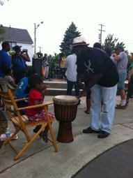 JUNETEENTH CELEBRATION with Umojah Nation Reggae Band and the Griot Project at the Art & Soul of Buckeye Park in Cleveland.