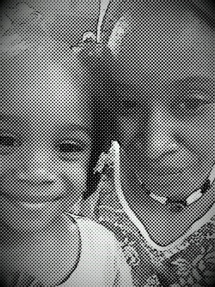 me and baby