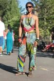 Modeling for: http://www.afropunk.com/ Brooklyn, New York, August 2014