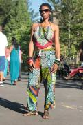 Modeling for: http://www.afropunk.com/    Brooklyn, New York, August 2014