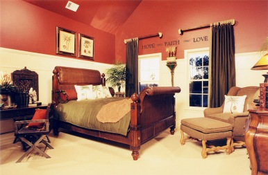 Sleigh beds are wonderful!