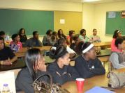 The students @Copley High School were very intrigued and full of questions. Very supportive group of students.