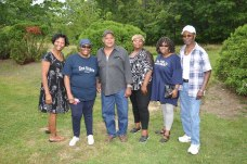 My mom, aunts, and uncles