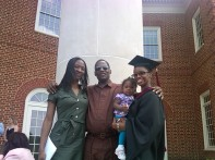 my biggest sis and daddy and CarinaRose