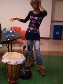 @Kent State after a performance