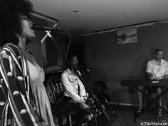 Practicing with Umojah Nation Reggae Band