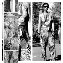 Modeling @AfroPunk!